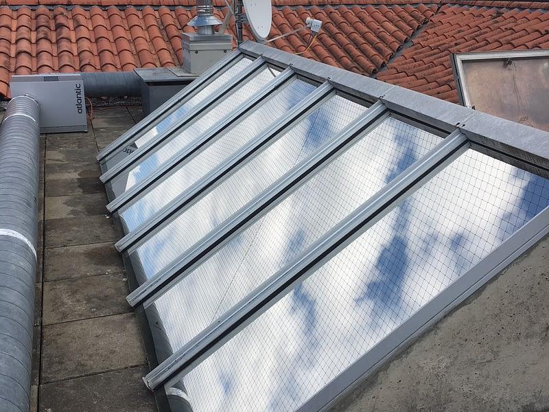 film extérieur anti-chaleur-toit